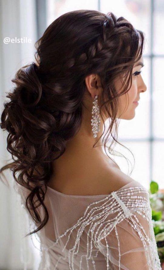 Wedding Dark Hair Wedding Hair Trend 2017