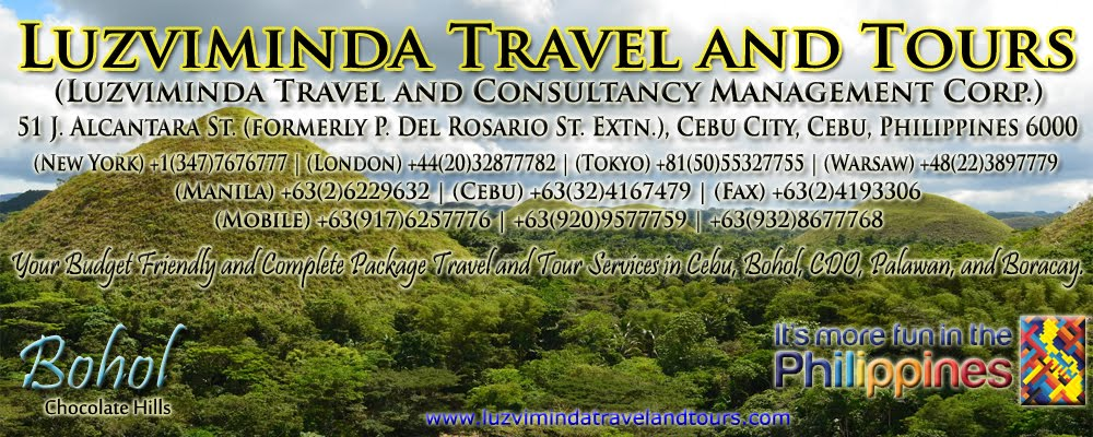 Luzviminda Travel and Tours (Go 2 Bohol Destinations)