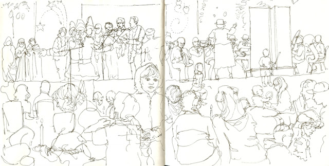 A sketch in time: December 2011