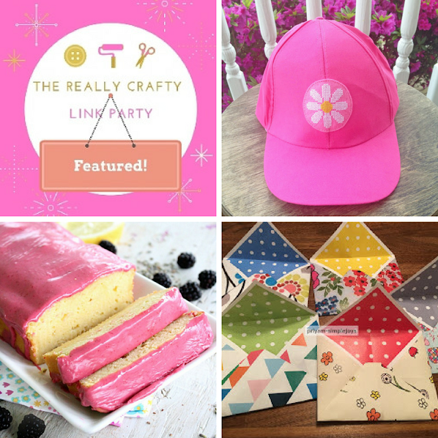 The Really Crafty Link Party #69 featured posts!