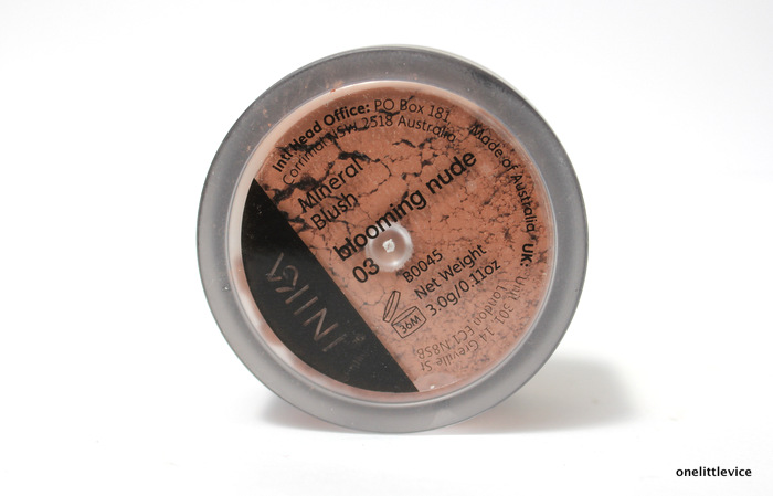 one little vice beauty blog: natural cruelty free and vegan powder blush