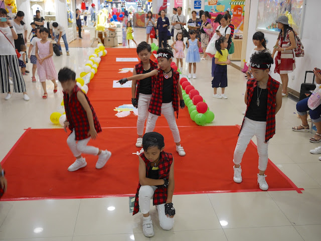 dance performance by boys