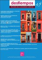 Destiempos 45, Salomé Guadalupe Ingelmo, Libros de Salomé Guadalupe Ingelmo