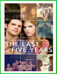 The Last Five Years (Los últimos cinco años) (2014)  | DVDRip Latino HD Mega 1 Link