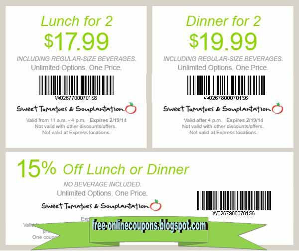 Souplantation printable coupon december 2018
