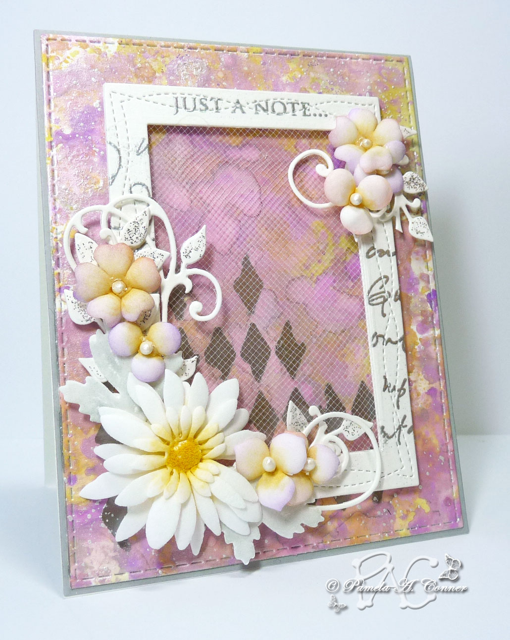 Yorkiemoms Creative Corner Sympathy Card For Peggy With My 1st