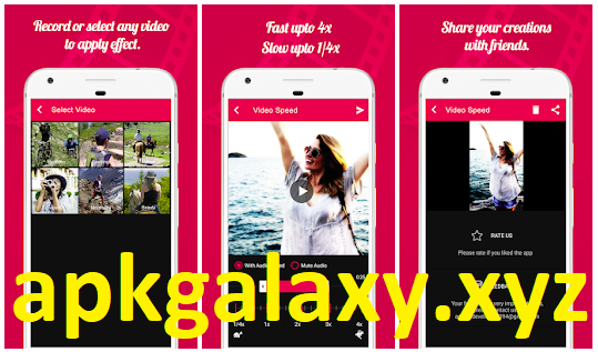 Video Speed - Fast Video dan Slow Motion Pro Apk