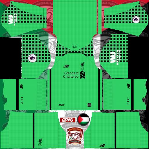 Dream League Soccer Liverpool Kit 2019