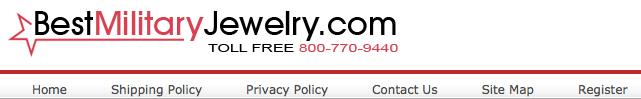 Bestmilitaryjewelry Online Store