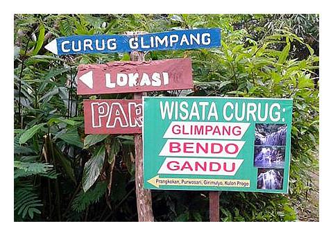 Curug Glimpang, Prangkokan, Purwosari, Girimulyo Kulon Progo