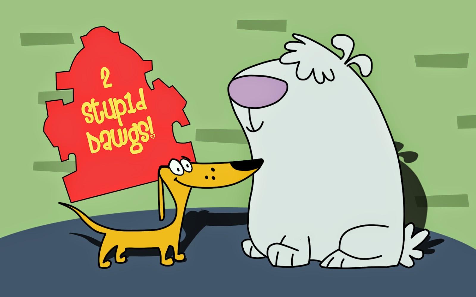 2 Stupid Dogs Wallpaper Animation Cartoon HD