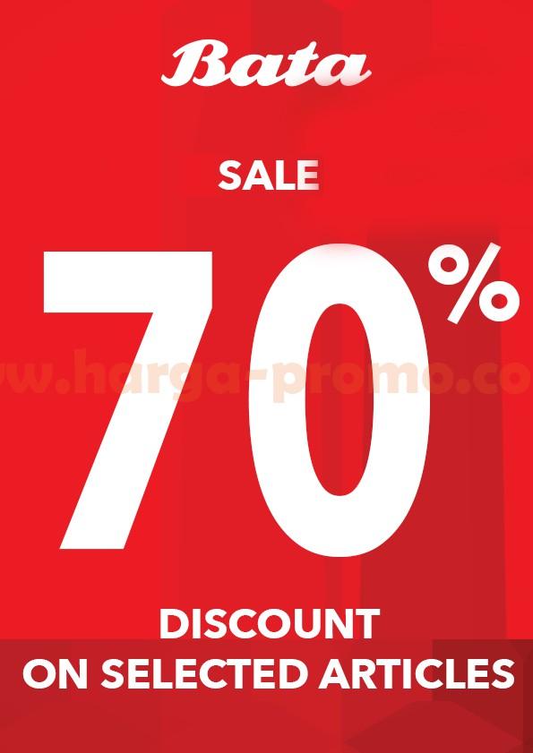 Promo Sepatu BATA Terbaru Sale 70% Selected Item Periode 25 - 26 Februari 2017
