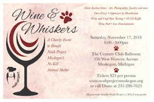 Wine and Whiskers November 17th
