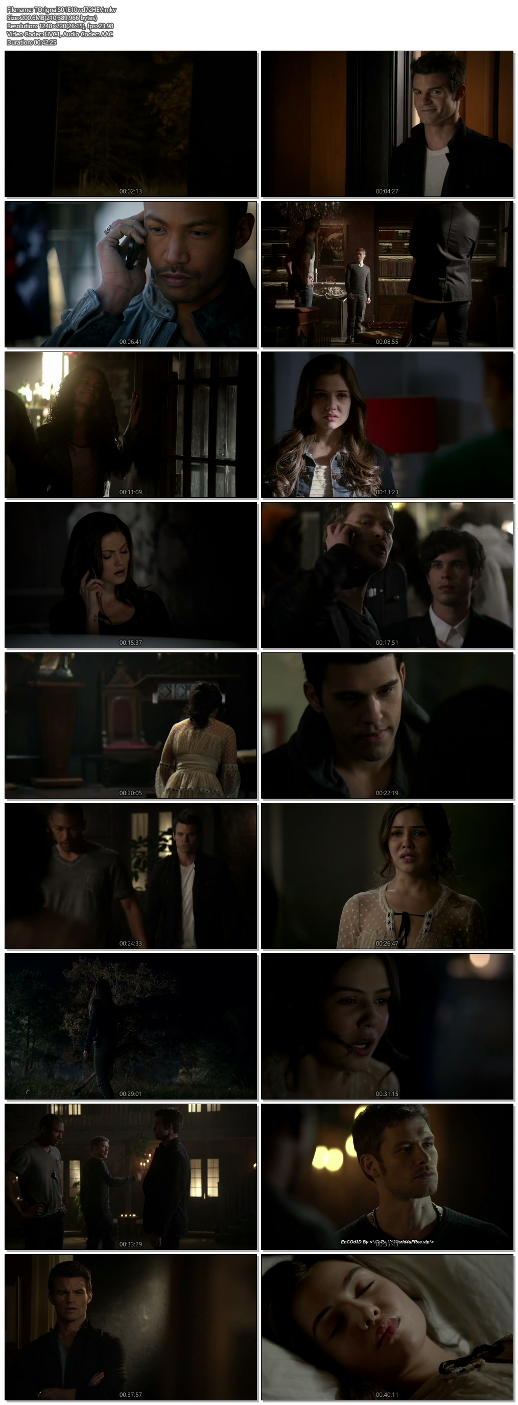 Screenshots Of Hindi Dubbed Show The Originals 2013 Season 01 Episode 10 300MB 720P HD