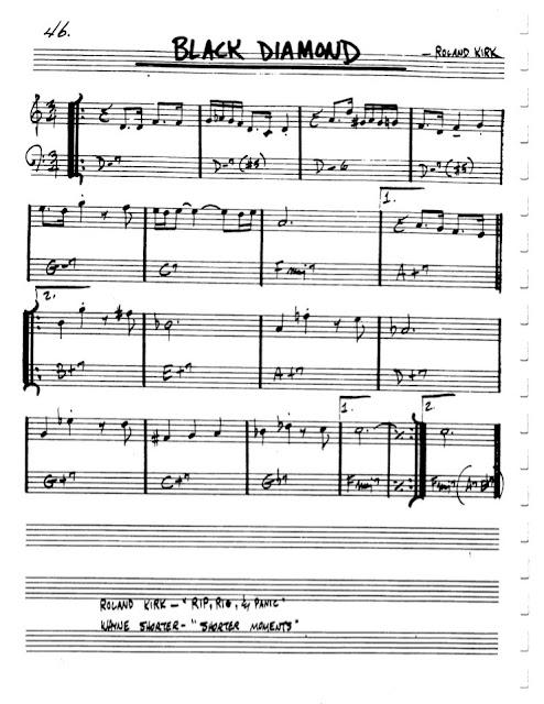 Partitura Flauta Roland Kirk