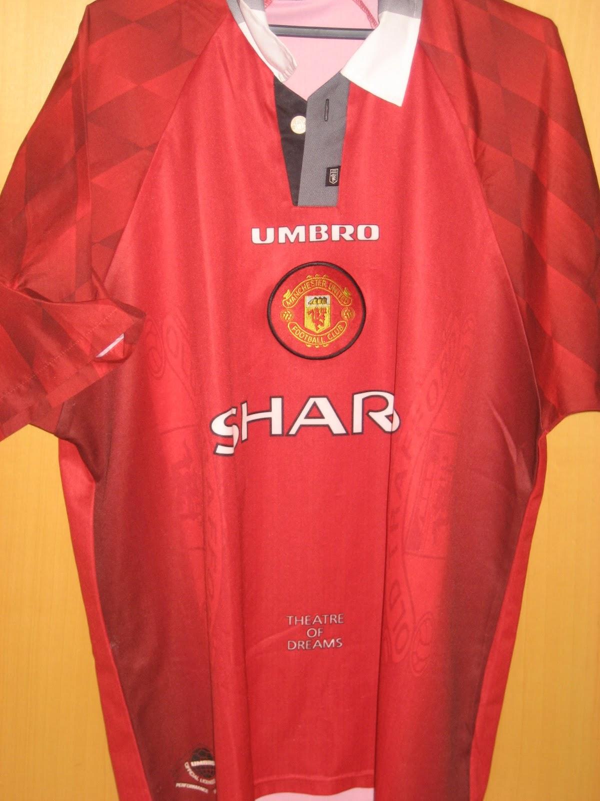 10102f2cf26 O Futebol Inglês Veste a Camisa - Manchester United