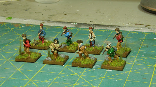 A New Project; 28mm French & Indian War Skirmish.