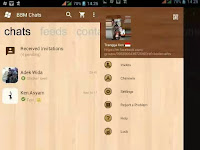 Download BBM WP Wood For Android