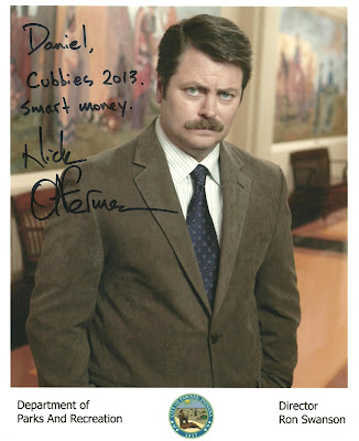Looks like Nick Offerman was just off by a couple of years.
