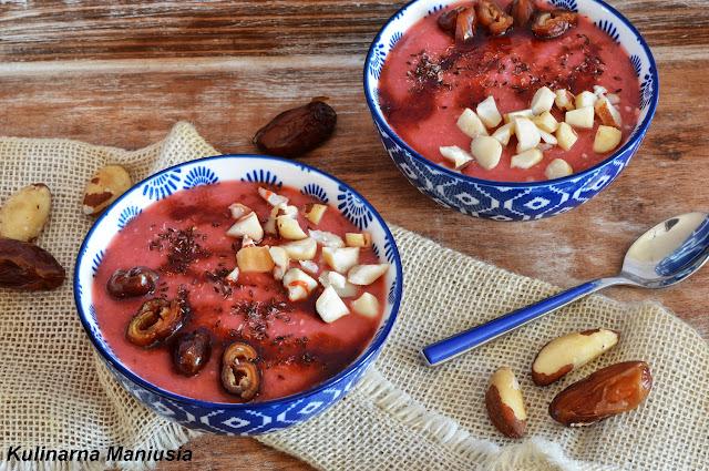 Smoothie bowl na śniadanie