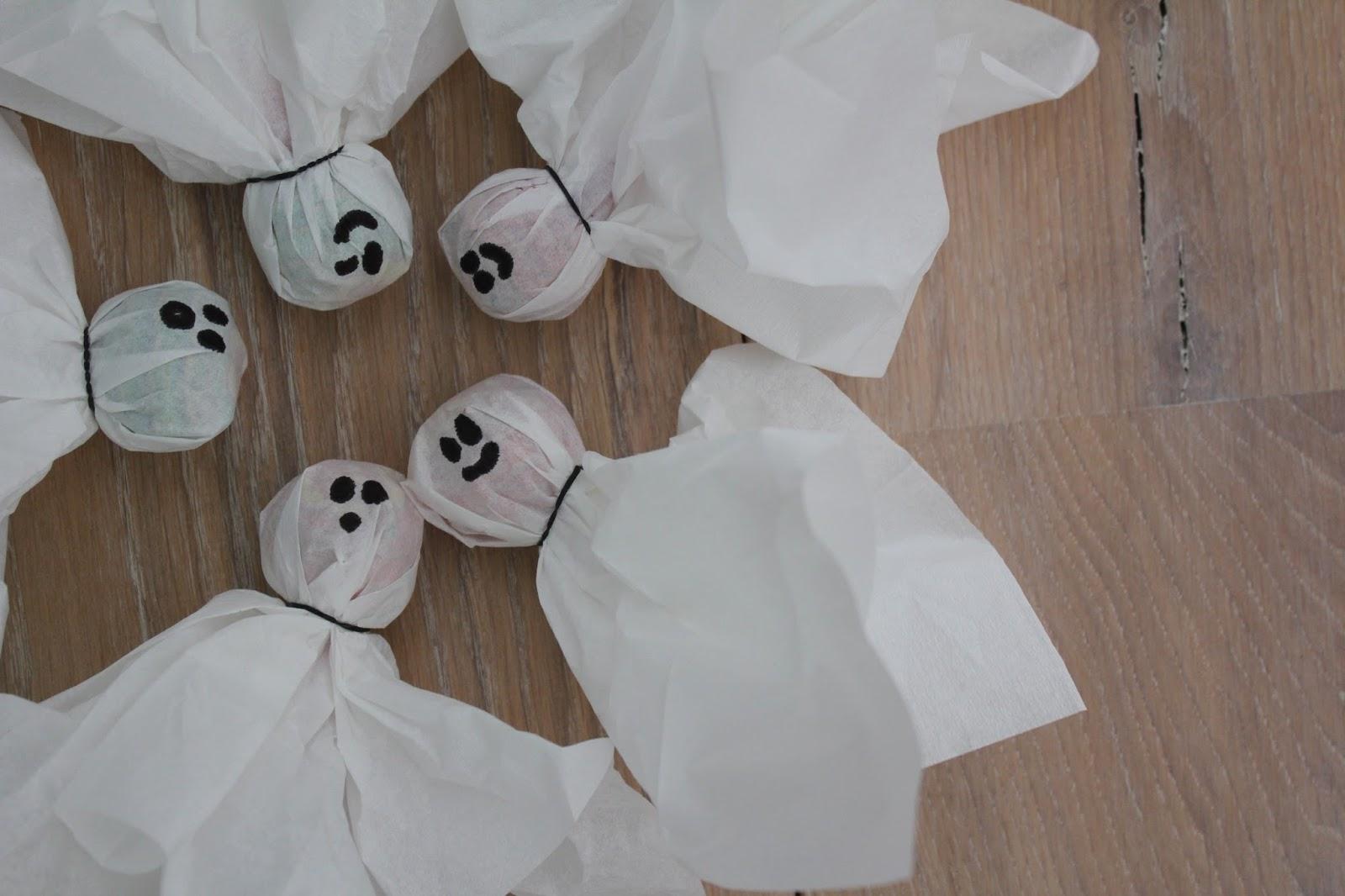 Diy Kamer Decoratie : Last minute diy halloween decoratie
