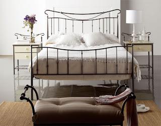 camas de forja para el dormitorio