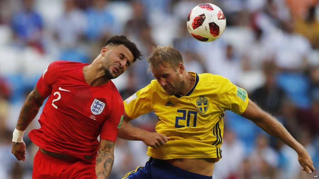 Los ingleses fueron superiores durante todo el partido / AP