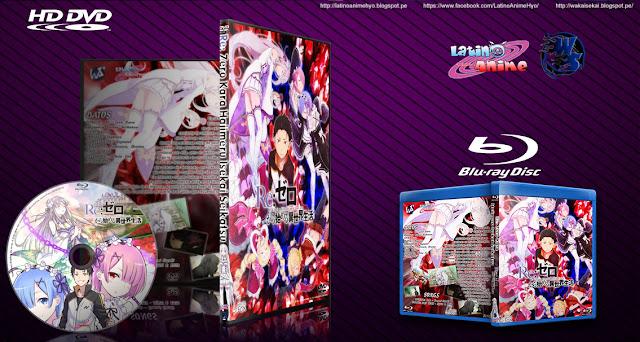Re: Zero Kara Hajimeru Isekai Seikatsu   Cover DVD - BD   MEGA  