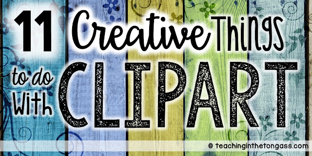 11 different ways to use clipart graphics