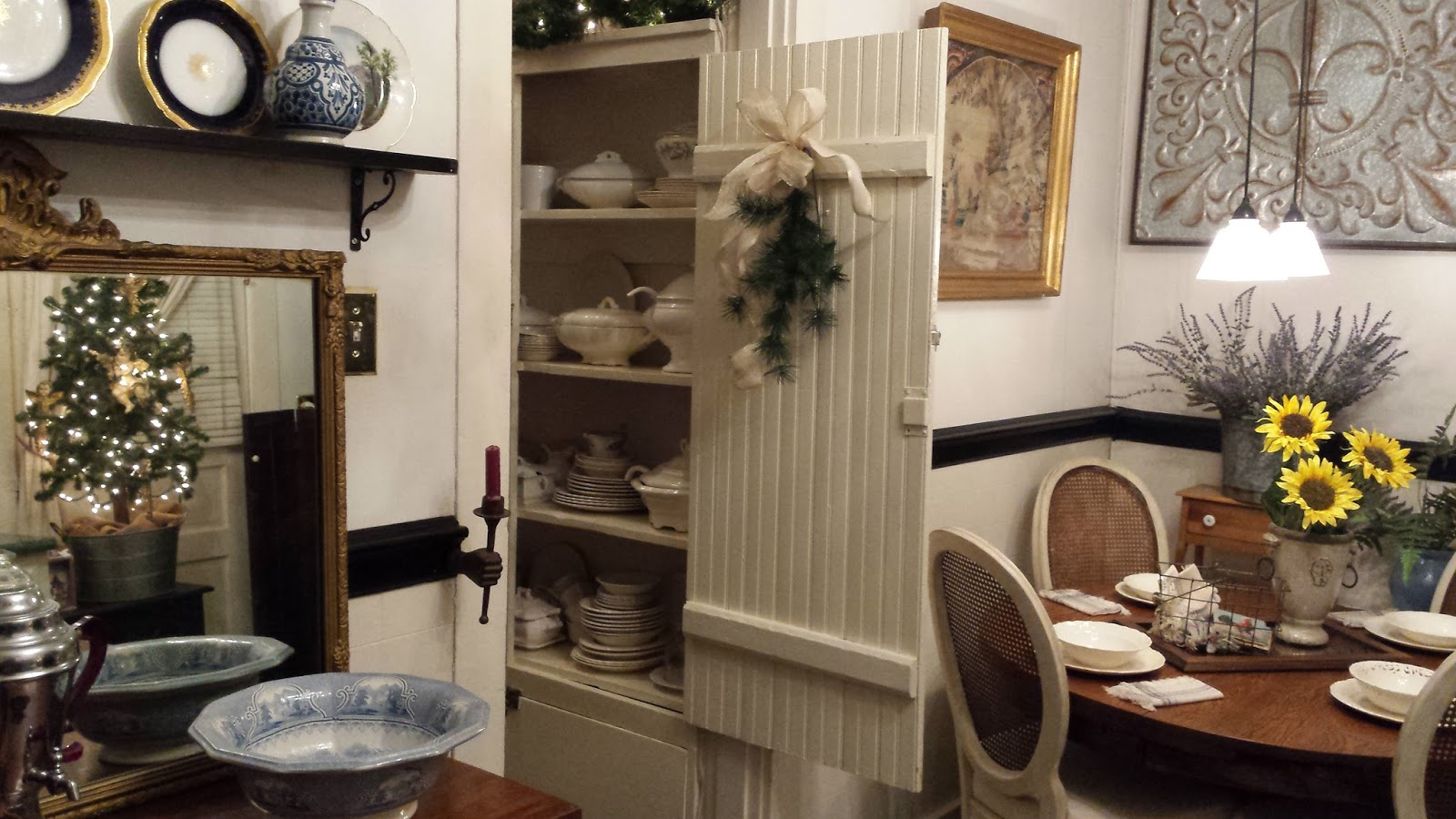 Cane Furniture Works Really Well In An Old World Farmhouse Kitchen Whether  Painted Or Left Natural.