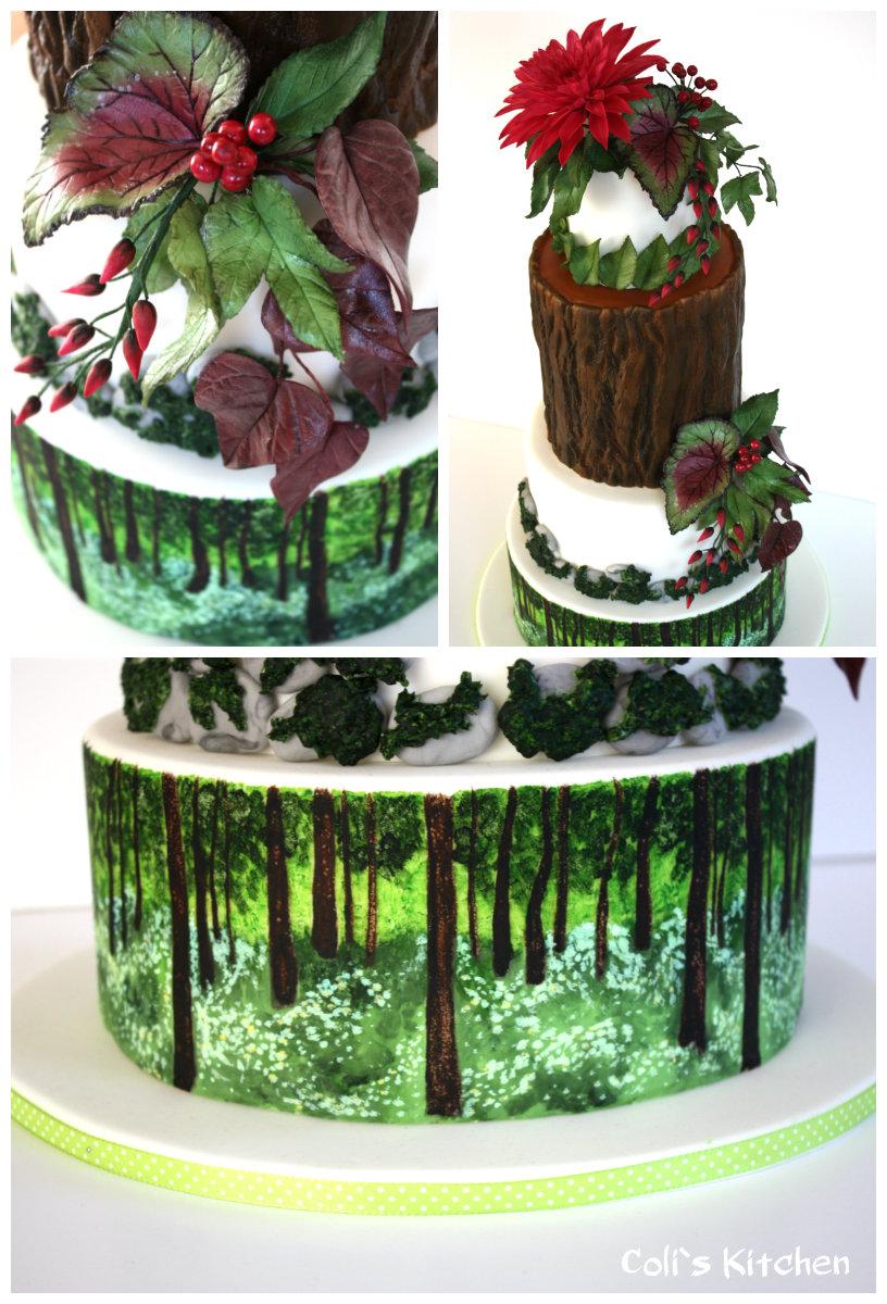 Coli S Kitchen Hier Sind Die Krumel Los Die Erste Cake And Bake