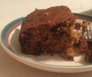 Pumpkin Chocolate Chip Coffee Cake, pumpkin and chocolate, does pumpkin and chocolate go together, fall recipes, Thanksgiving recipes