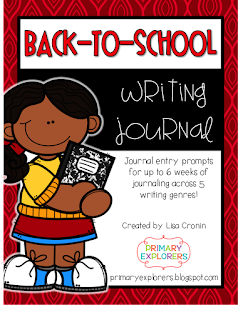 https://www.teacherspayteachers.com/Product/Back-to-School-Writing-Journal-2737013