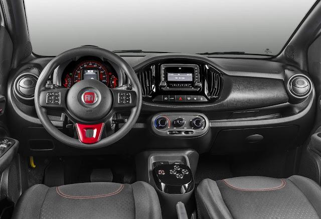 Novo Fiat Uno 2017 Sporting Automático - Preço