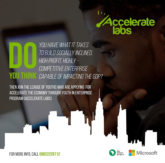 The Future Project partners with Microsoft Nigeria to empower Nigerian youths nationwide