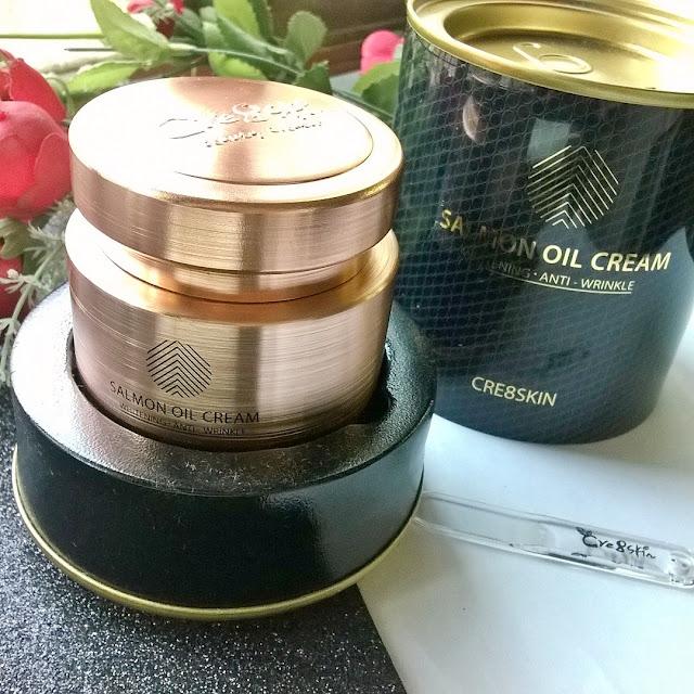 [Review] Cre8skin Salmon oil cream