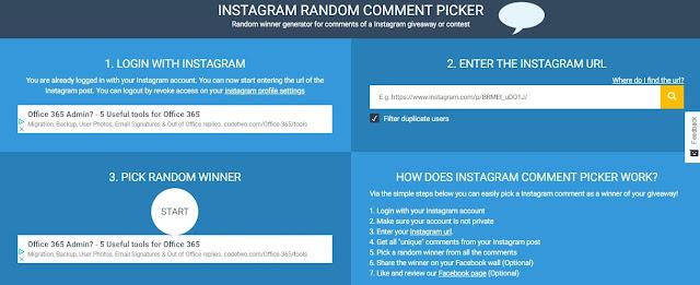 Πώς κάνω κλήρωση διαγωνισμού με το comment picker