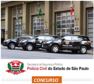 edital concurso Polícia Civil de São Paulo