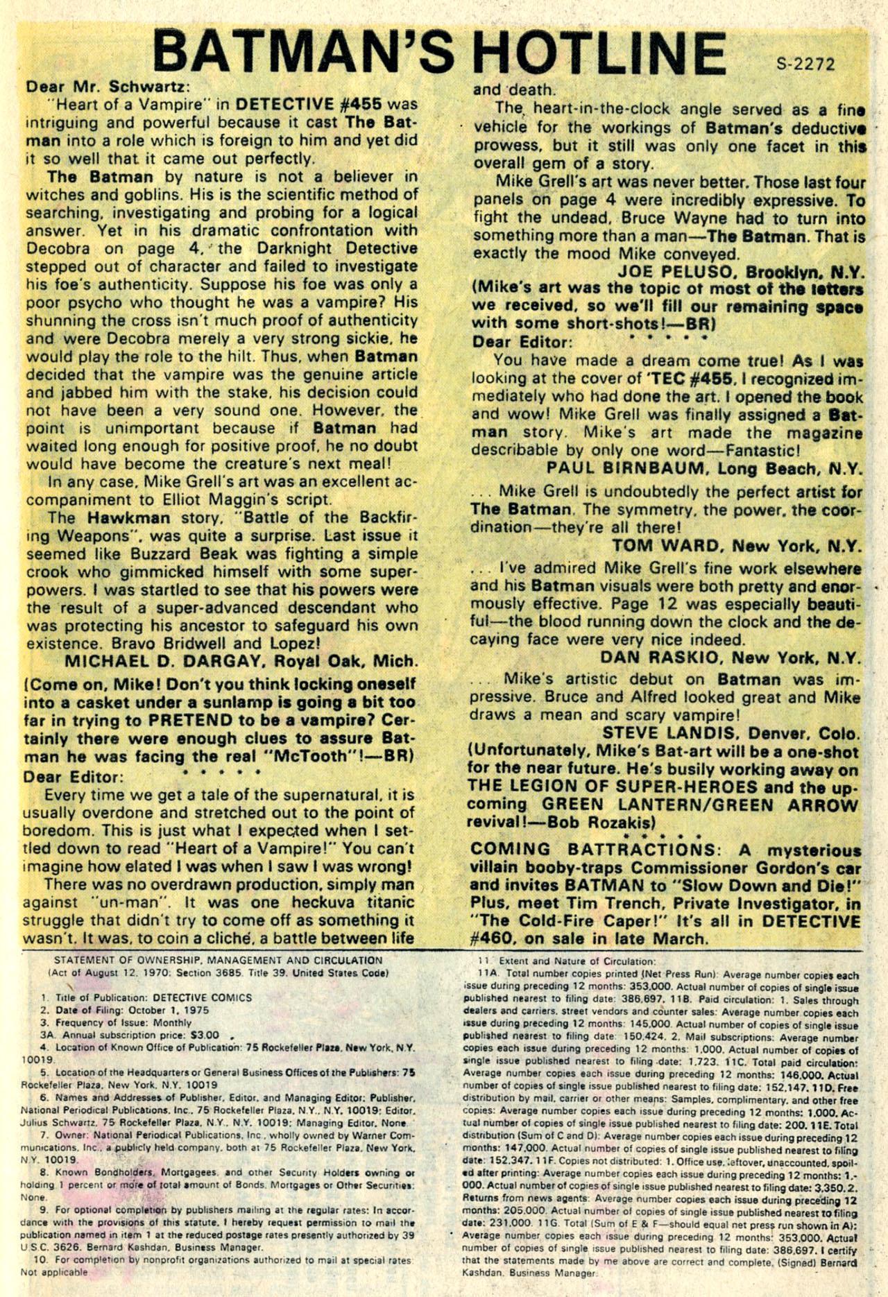 Detective Comics (1937) 459 Page 32