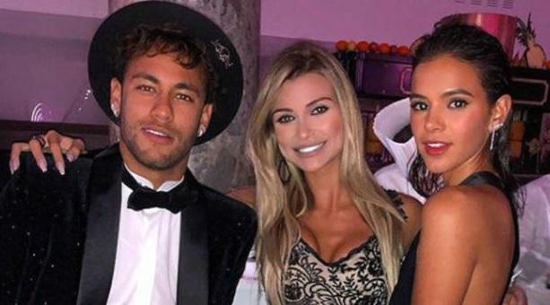 Neymar festejó su 26 cumpleaños con una macrofiesta. Felicidades Ney!
