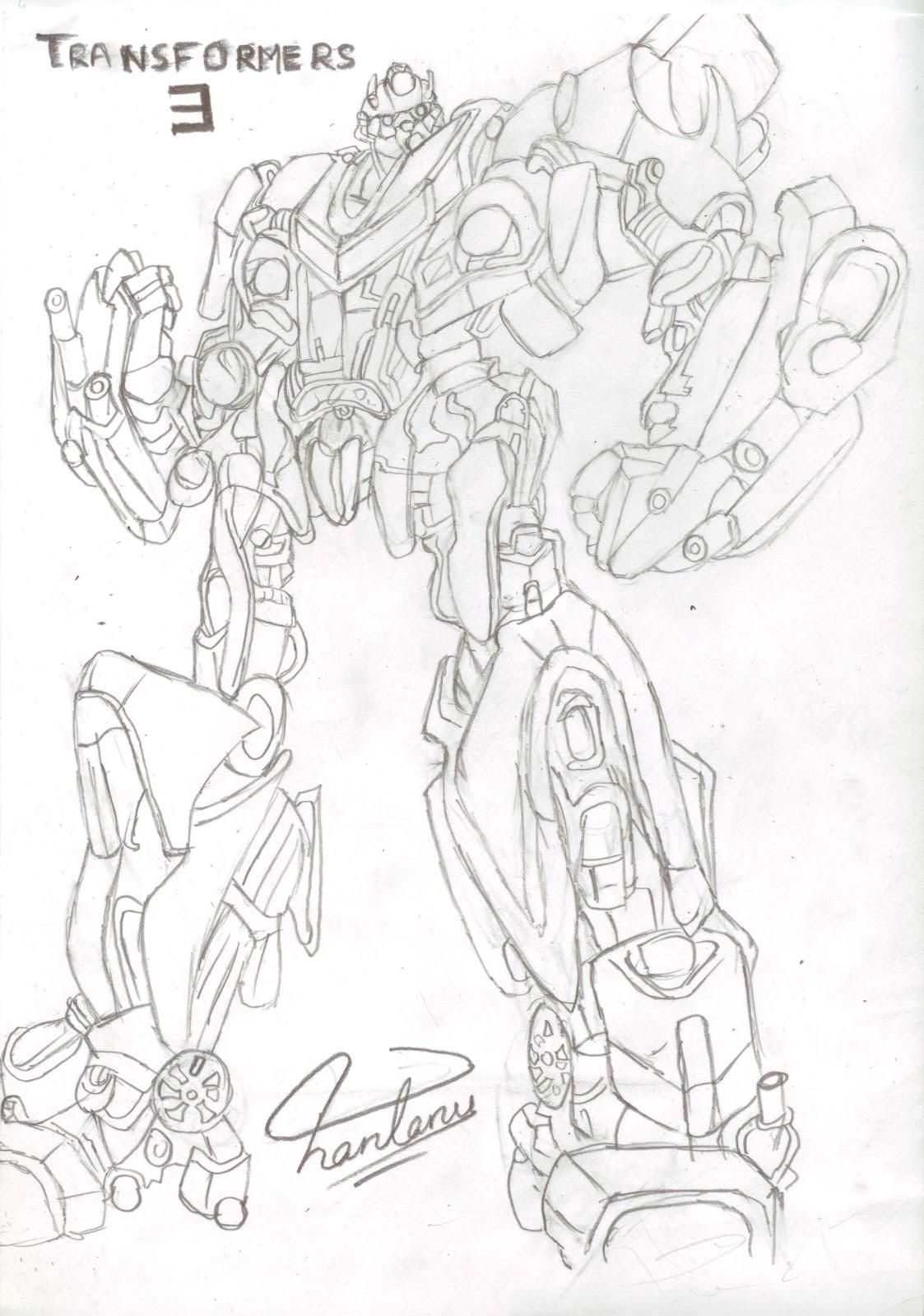 Manga Drawings Bumblebee