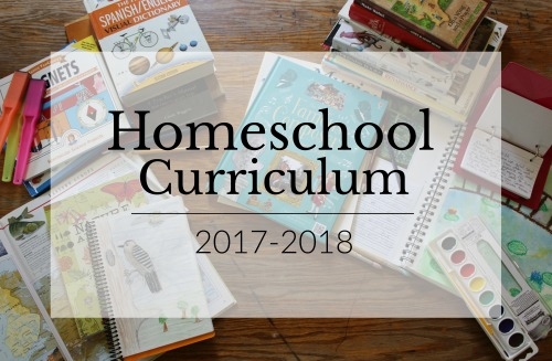 Homeschool Curriculum choices for a 9th, 6th, 5th, 3rd, and K5 student 2017-2018