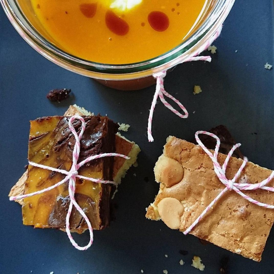 Kürbis Tomaten Suppe | Kürbis Brownies | Macadamia Blondies | Herbstrezepte | Saisonrezepte mit Kürbis | judetta.de