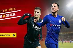 Live Streaming Liga Eropa Frankfurt vs Chelsea 3 Mei 2019