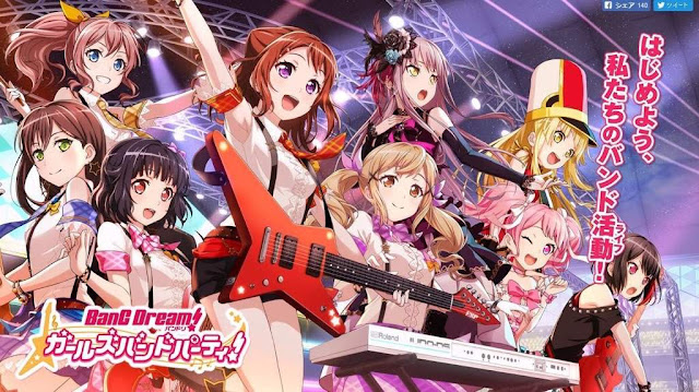 Anime BanG Dream! Segunda y Tercera temporada estreno 2019