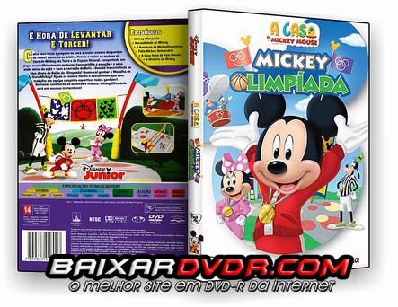 A CASA DO MICKEY MOUSE – MICKEY OLIMPIADA (2016) DUAL AUDIO DVD-R OFICIAL
