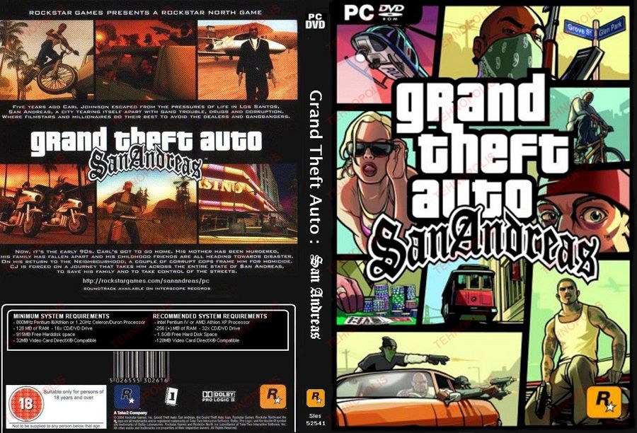 gta san andreas pc game highly compressed only by the rain