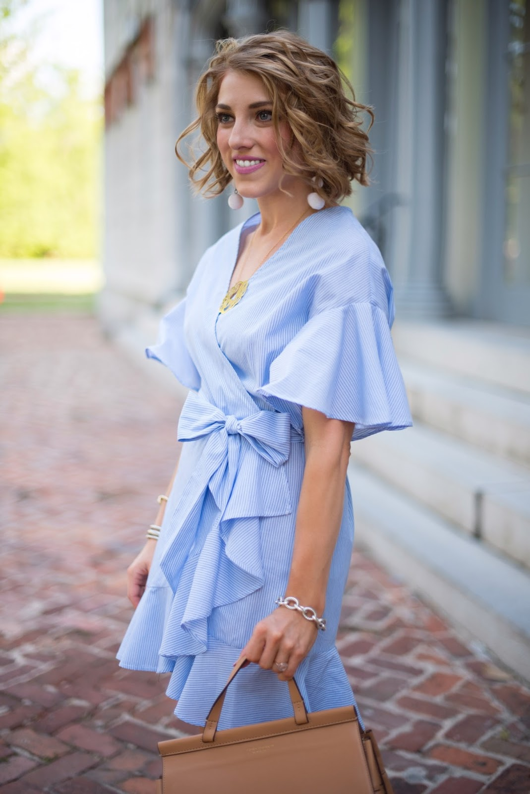 Wrap Dress - Click through to see more on Something Delightful Blog