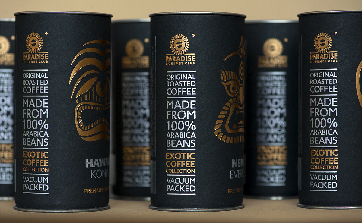 exotic coffee collection by paradise gourmet club on