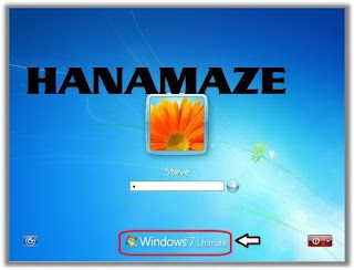 hanamaze, logon windows 7